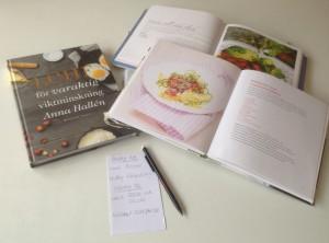 Matsedel och kokböcker